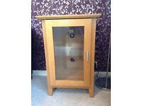 Oak Hi-Fi cabinet