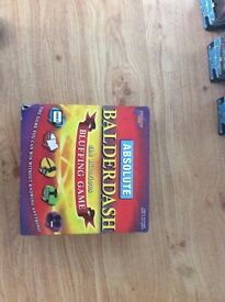 Balderdash the board game. Never used.