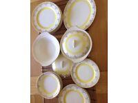 Vintage china dinner set