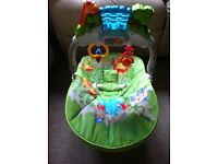 Fisher Price Rainforest Friends Deluxe Bouncer