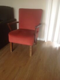 Reduced Vintage red chair