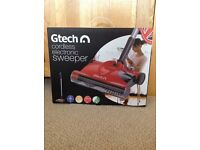 Gtech cordless electronic sweeper