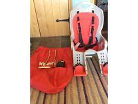 Kooki Child bike seat carrier.