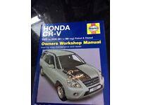 Honda crv haynes manual 2002-2006