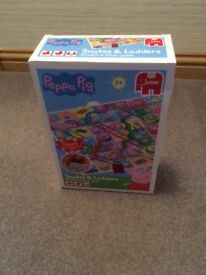 Peppa Pig Snakes And Ladders Game