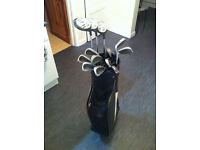 Daytona Golf - Pro tour golf club set and bag plus accesories