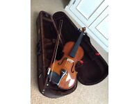 Brand new Stentor violin including bow and case