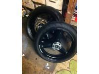 Gsxr k4 k5 wheels