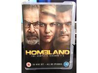 Homeland seasons 1-5