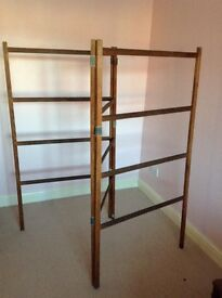 Wooden clothes airer, retro 1930/40's