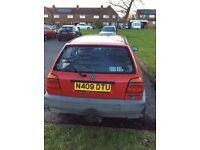 Volkswagon Golf 1.4 Mk3 (1995) - First Starter Car / Petrol