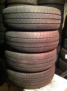 4 pneus 195/65 r15 toyo 800 ultra premium Touring d'été.  145$