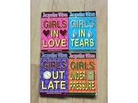 Set of Jacqueline Wilson books