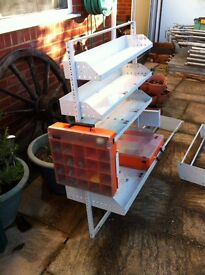 van racking / bin system