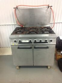 Falcon 6 Ring Oven