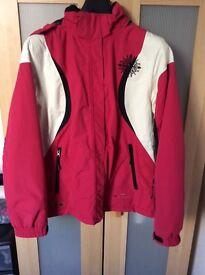Pink Parallel Ski Jacket size 14