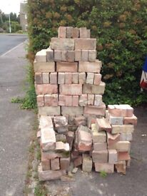 350 bricks, approx, for hard core. FREE