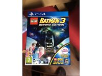 Limited edition Batman 3 beyond Gotham the game & Blueray movie and Clark Kent figure