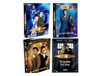 NEW Doctor Who S1-4