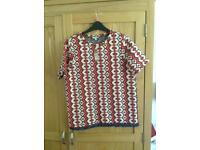 River Island Women's Patterned Top with tags