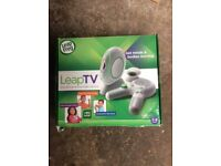 Leap Tv console and attachments (original packaging)