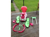 Chicco Quattro Car Sit n Ride 4-in-1 Toy Car / Baby Walker - Pink