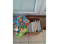 Bundle of boys annuals