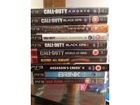 10 PS3 Games - No delivery - Thanks for viewing