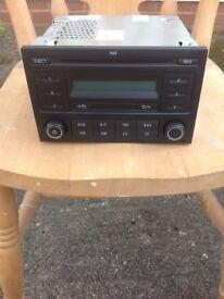 VW Polo car stereo, CD radio original.