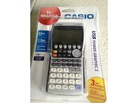 Casio fx-9860GII graphic calculator