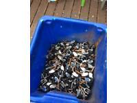 Job lot of 260 castor wheels