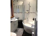 White bathroom suite with accessories. Absolute bargain. Excellent condition.