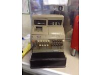 Antique till cash register