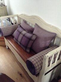 moon fabric bed runner