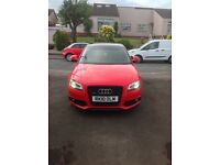 Audi A3 S Line Black Edition Quattro with Panoramic Roof