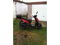 Kymco DJ50S moped scooter 2014 low mileage