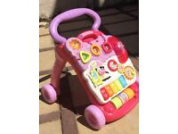 VTech Baby first steps walker -very good condition, from a pet and smoke free home