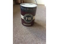 Brand new unopened Farrow and Ball 5ltre limewash paint