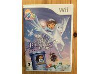 Wii game Dora saves the Snow Princess