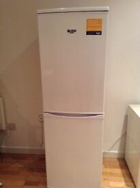 BUSH Fridge Freezer, 12 months old.