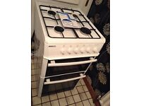 Beko Gas Cooker, with Brousher.