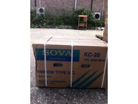 Sova Air Conditioner, cooling only, Window Type A.C., KC-28 1Ph, 220V 50Hz