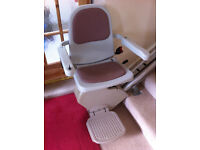 STAIRLIFT - Acorn Superglide. Straight run, fitted on left-hand side. Lovely condition.
