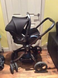 Mothercare pram and pushchair