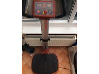 Medifit vibration plate,excellent condition, easy to use
