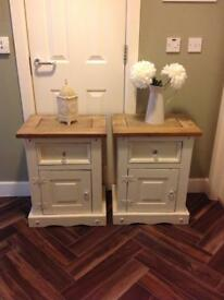 Pretty bedside cabinets