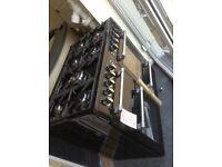 Leisure cookmaster 100cm black range. £750. New/gradd 12 month Gtee