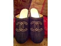Authentic Chanel clogs/ sandels