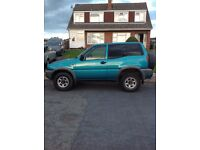 Nissan terrano 2.4 xtreme,low mileage,good condition for age.