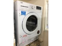 Integrated 8kg washer dryer new graded 12 months gtee RRP£499